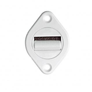 10 Stück | Rollladen-Gurtführung Maxi | 360° drehbar | mit Bürste | für Maxi Gurtband 23 mm