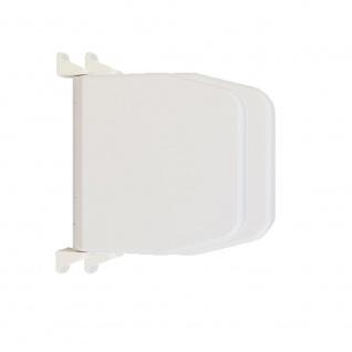 2 x Selve Aufschraubwickler Mini Aufputz Gurtwickler aufklappbar Scharniersystem Rolladen weiß, ohne Rolladengurtband