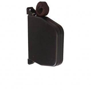 Aufschraubwickler Aufputz Gurtwickler Mini für Rolladen, 7 m Gurtband / Rolladengurt, braun