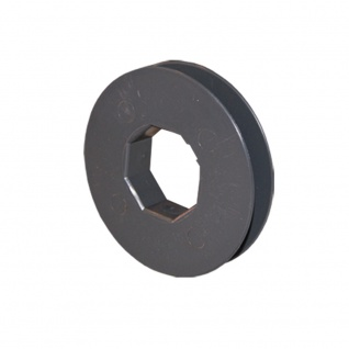 Gurtscheibe Ø 160 mm für SW 40 8-kant Stahlwelle für Rolladen
