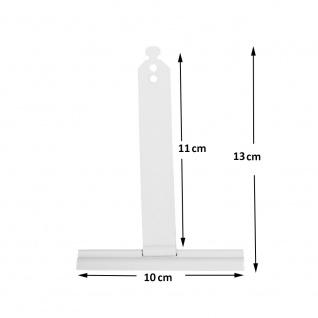 100 Stück | Aufhängefeder | Sicherungsfeder für Mini Rolladen