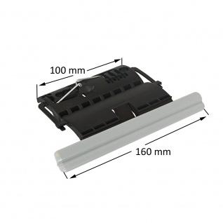 Rollladen Clip Wellenverbinder für 50mm & 60mm 8-kant Stahlwellen, 1-gliedrig, feste Wellenverbinder, Hochschiebesicherung