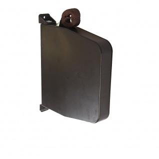 Aufschraubwickler Aufputz Gurtwickler Mini für Rolladen, 11 m Gurtband / Rolladengurt, braun