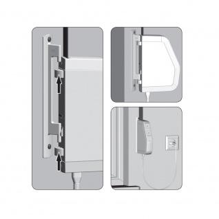 Rademacher RolloTron Schwenkwickler Standard Minigurt 1550 elektrischer Aufputz Gurtwickler Motor, weiß, ohne Display, 30 kg Zugleistung, 15mm Rolladengurt, 1550-UW - Vorschau 5