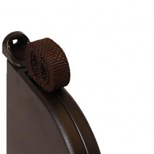 5 x Aufschraubwickler Mini Aufputz Gurtwickler Rolladen braun, 5 m Gurtband Rolladengurt braun, Runddesign - Vorschau 3