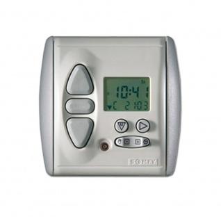 Somfy Chronis RTS L DCF Comfort Funk Zeitschaltuhr mit Helligkeitsautomatik Programmschaltuhr