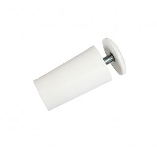 20 x Anschlagstopper / Anschlagpuffer 40mm, weiß