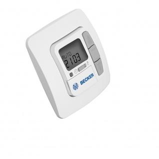 Becker Centronic TimeControl TC 42 Zeitschaltuhr mit Display und Astrofunktion, drahtgebunden