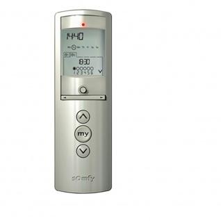 Somfy Telis 6 Chronis RTS Silver 6-Kanal Funk Zeitschaltuhr / Handsender / Programmschaltuhr