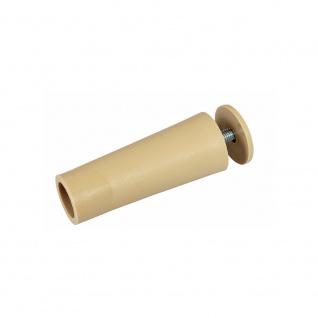 20 x Anschlagstopper / Anschlagpuffer 60mm, beige