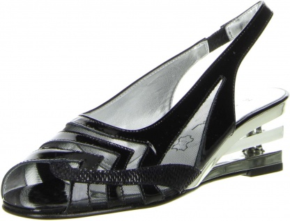 Vista Damen Sling Pumps schwarz