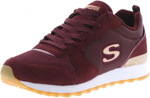 SKECHERS OG 85-Goldn Gurl Damen Sneaker weinrot