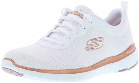 SKECHERS 13070/WTRG Appeal 3.0-First Insight Damen Sneaker weiß/gold/rose