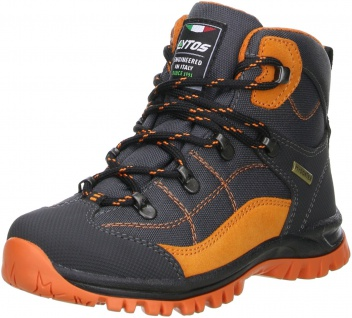 LYTOS Kinder Wanderschuhe Trekkingschuhe anthrazit/orange