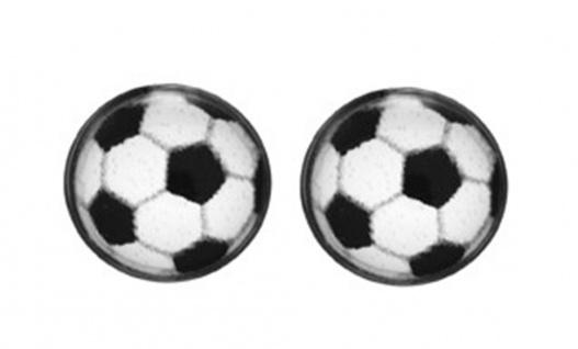 STUDEX Fußball Erstohrstecker Ohrschmuck Ohrringe Edelstahl 100 % Steril 21863