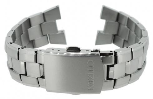 Citizen Eco Drive Ersatzband Titan mit Faltschließe AS2040 AS2040-56A AS2040-56E