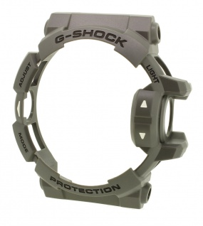 Casio G- Shock Ersatzteil Lünette Resin Gehäuseteil Bezel grau GA-400-4B GA-400