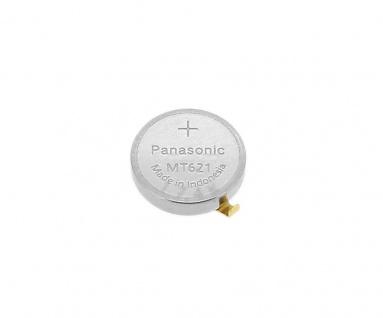 Panasonic Knopfzelle Akku / Batterie MT621 Lithium Ionen (LiIon) mit Fähnchen 295-5100