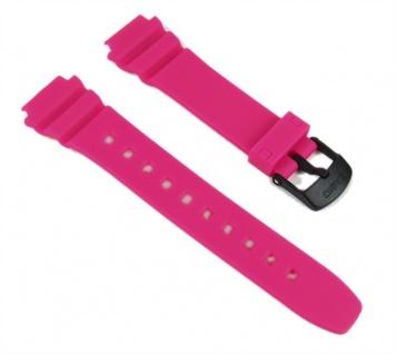 Casio Uhrenarmband 16mm Resin Band Pink LW-202H-4AVEF LW-202H LW-202