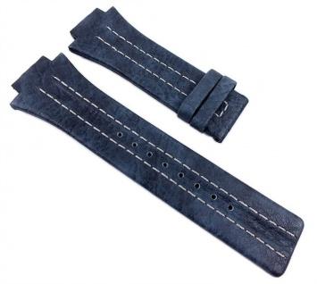 Festina Uhrenarmband Leder Band 18mm Blau F16184/B