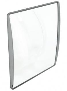 Festina Mineralglas Uhrenglas Ersatzglas eckig mit silbernem Rand für F16468