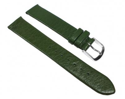 Eulit Uhrenarmband Leder Band Dolly Grün 22678S