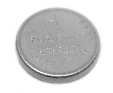 Panasonic Knopfzellen Akku Batterie CTL 920F Lithium passt in Solar Casio Uhren Modelle 10304339