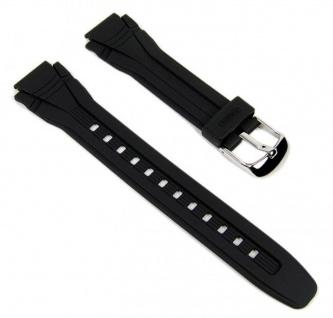 Casio Uhrenarmband Resin schwarz AQF-102W-7 AQF-102W-1
