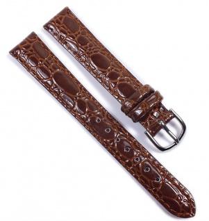 Uhrenarmband Ersatzband Leder Band Braun 21576S