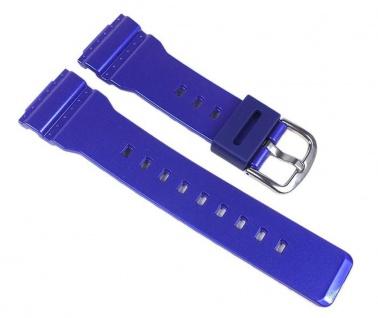Casio Baby-G Uhrenarmband Resin Band Blau für BA-112