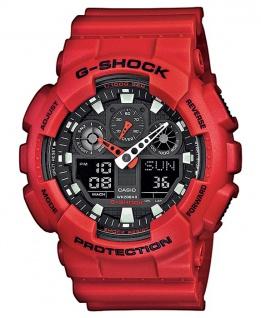 Casio G-SHOCK Herrenuhr Armbanduhr Stoßfest Antimagnetisch GA-100B-4AER