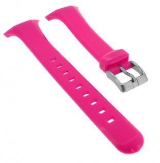 Calypso Uhrenarmband pink Band aus Kunststoff mit Dornschließe K5751/3
