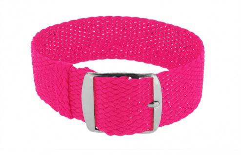 Minott Durchzugsband Ersatzband neon pink Band geflochten Perlonband 35847