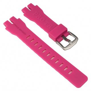 Casio Uhrenarmband Resin Band Pink für PRW-3000 PRW-3000T PRW-6000 PRW-6000Y 10470458