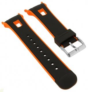 Calypso Ersatzband schwarz Kunststoff Dornschließe silberfarben Spezial Anstoß K5610/7 K5610