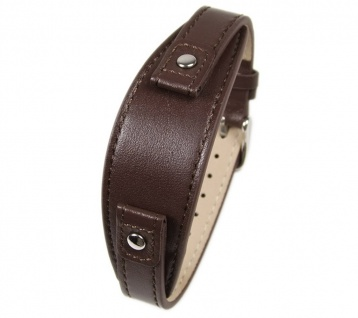 Uhrenarmband Leder Band Unterlageband 12mm dunkelbraun s.Oliver SO-1579-LQ
