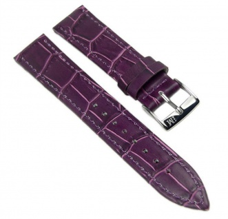Morellato Bolle Uhrenarmband Kalbsleder Band Violett 16mm 20147S