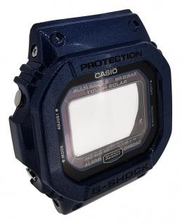 Casio G-Shock Gehäuse blau glänzend CASE/CENTER ASSY Mineralglas GW-M5610CC-2