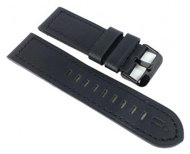 Police Serie Lancer Ersatzband 24mm Leder schwarz 12591jVSBU/02 12591jVSBU 12591