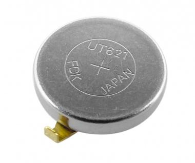 Knopfzelle Akku / Batterie UT621 Lithium Ionen (LiIon) mit Fähnchen 32109