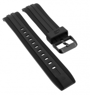 Casio Edifice Chronograph Ersatzband schwarz Resin EFR-558BP-1AV > EFR-558BP