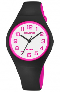 Calypso Kinderuhr analog Kinder Kunststoff Armbanduhr Uhr K5777/8 K5777