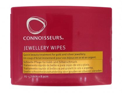 Reinigungstücher für Gold- und Silberschmuck 25 Tücher : 7, 6cm x 8, 9cm ? 34017