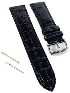 Casio Edifice Chronograph Ersatzband 22mm schwarz Leder EFR-526L-1AVER EFR-556L
