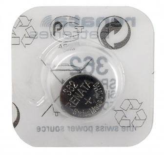 Renata 362 Silberoxyd Knopfzelle SR721SW Batterie Swiss Made 1, 55 V