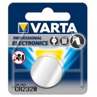Varta Knopfzelle Batterie 3V Ersatzbatterie CR2320 Lithium für Armbanduhren 34290