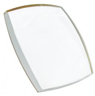 Festina Classic Uhrenglas Mineralglas eckig Ersatzglas gewölbt F20465