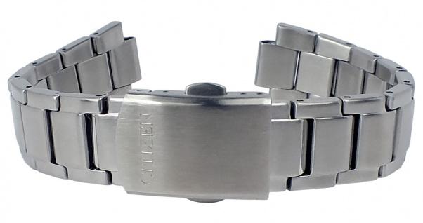 Citizen Uhrenarmband Edelstahl Band 17mm silberfarben mattiert für FE6010-50A