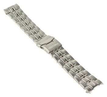 Festina Uhrenarmband Edelstahl Band 22mm Silberfarben für alle F16565/-
