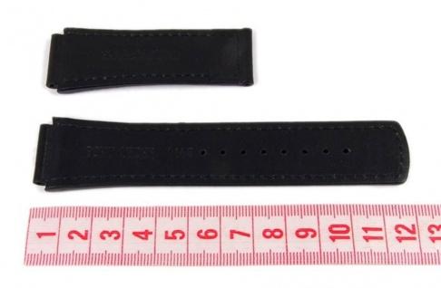 Junghans Ersatzband Leder 20mm schwarz 054/4323, 056/4600, 054/4620 - Vorschau 2